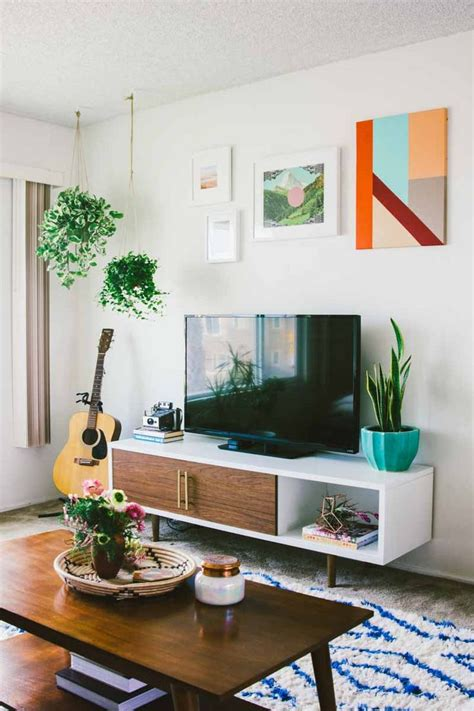 flat decoration simple apartment living room decorating ideas peenmedia