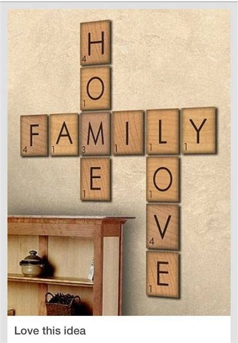 ef scrabble word wall for the home walls wall decor