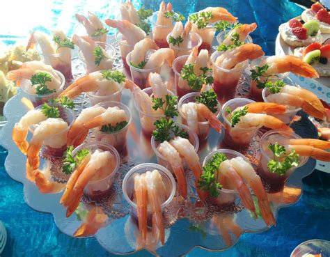 Cocktails For Baby Shower by Shrimp Cocktail Food At The Baby Shower It S