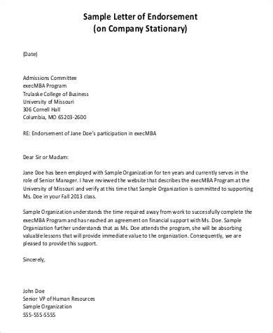 certification letter of endorsement sle business letter endorsement sle 28 images sysu aiesec