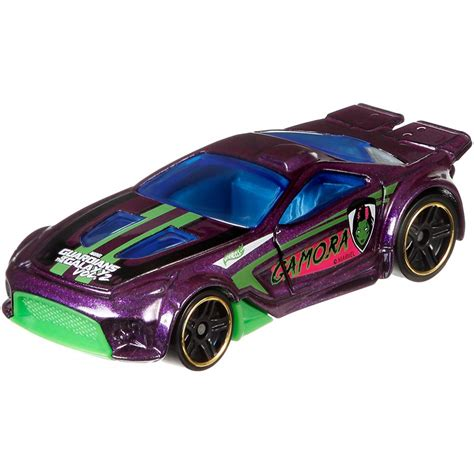 New Mainan Diecast Wheels Guardians Of The Galaxy Vol 2 Gamora model guardians of the galaxy vol 2 car scale 1 64 mattel wheels die cast you choose marvel