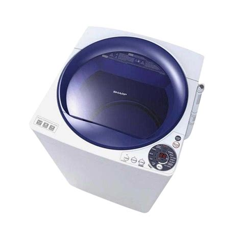 Mesin Cuci Sharp Dolphin 10kg jual sharp es m805p wb mesin cuci blue 8 kg top loading