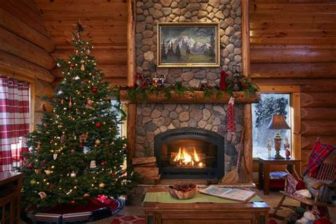 Decor For Fireplace take a tour inside santa s house in the north pole today com