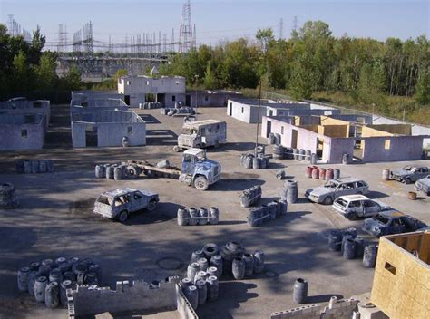 Backyard Paintball Field by Paintball Courses Skorpion Paintball Features An