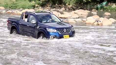 renault alaskan 2017 2017 renault alaskan tackles colombian wilderness in off