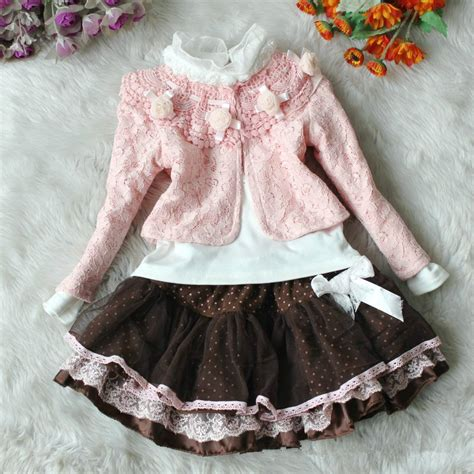 baby new year clothes set new years coat baby lace flower dresses dot