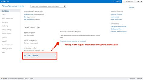 How To Activate Office 365 Portal Activating Yammer Enterprise For Existing Office 365 E