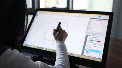 Drawing Monitor Vs Tablet xp pen 22 quot pen display ips monitor graphics drawing