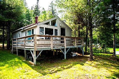 Rangeley Maine Cabins For Rent by Waters Edge Rental Cabins On Rangeley Lake