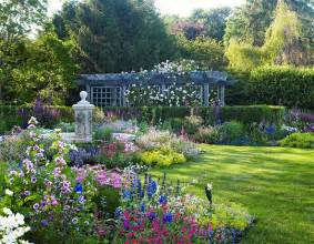 english style garden in the htons traditional home