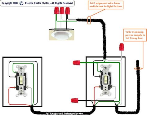 internal single pole switch controlling outdoor