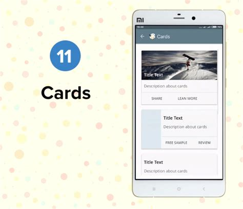 Card Template Android by Android Ui Material Design Template By Volkdown Codecanyon
