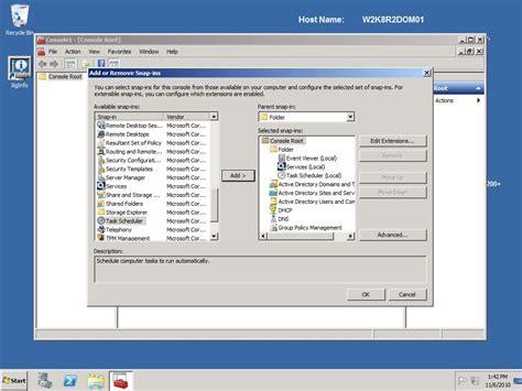 create custom microsoft management consoles mmcs