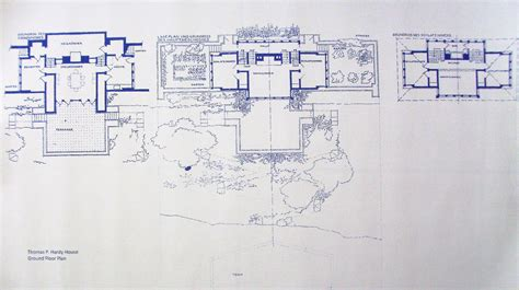 Frank Lloyd Wright Blueprints | frank lloyd wright casa r 250 stica blueprint por