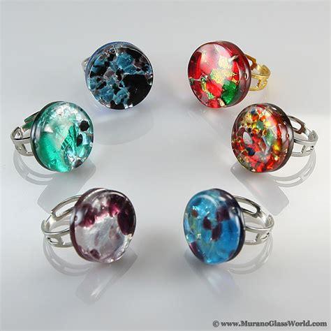 wholesale murano glass wholesale murano glass rings venetian reflections
