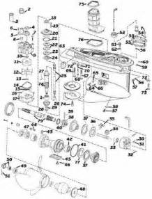 johnson outboard parts v4 v6 type m drawings