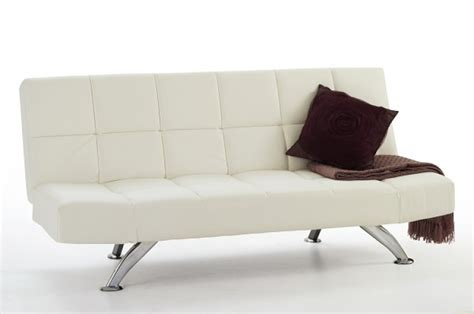 white leather sofa bed serene venice orchard white faux leather sofa bed by