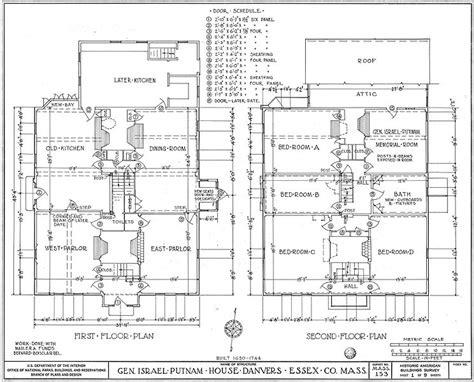home design story wiki file putnam house floor plans jpg wikimedia commons