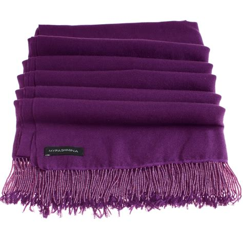 buy pashmina stole with beaded tassels 70x200cm