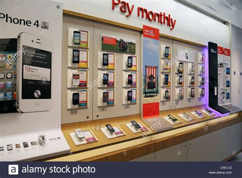 Mobile Display - mobile phone display in mobile phone shop surrey