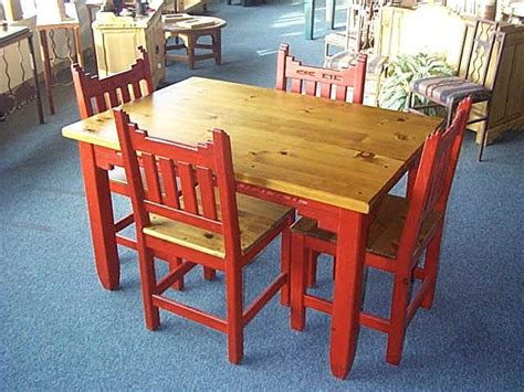 Mexican Dining Table And Chairs by New Mexico Southwest Style Dining Set Tables Chairs