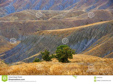 colorful hill colorful clay stock photo image 62882809