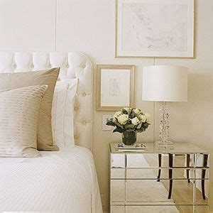 mirrored tufted headboard headboards tufted headboards and night stands on pinterest