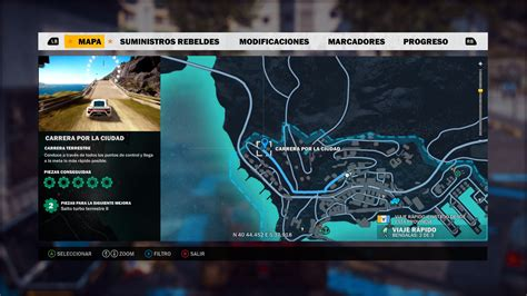 Coz I U Second 1 3 just cause 3 where to find f1 car location