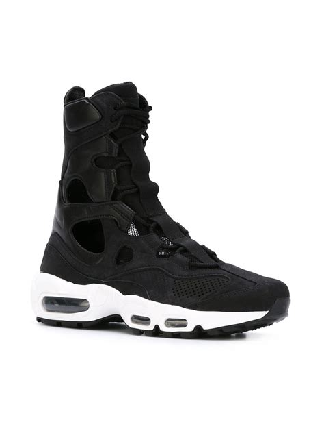 empire sneakers nike air max empire sneakers in black for lyst