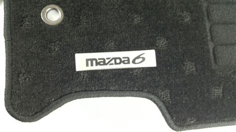 genuine mazda  gh carpet floor mat set mazda   gh ac fm ebay