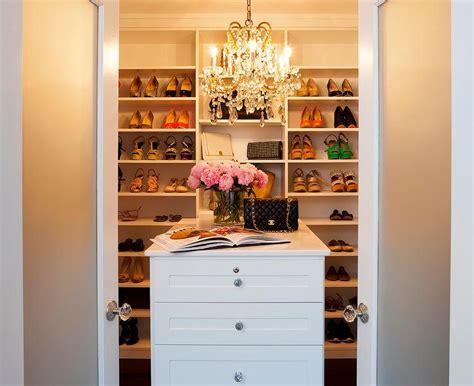 Shoe Closet With Doors Small Closet Island Design Ideas
