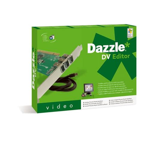 Stila 2007 Dazzle And 20 by Dazzle Dv Editor Carte D Acquisition Dazzle Sur Ldlc