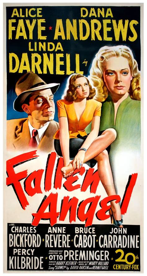 fallen angel film fallen angel 1945 directed by otto preminger more