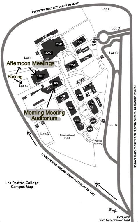 las positas college map 2004 meeting program