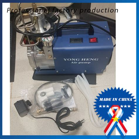 adjustable auto stop 4500psi 300 bar 220v electric high pressure water cooling airgun scuba air