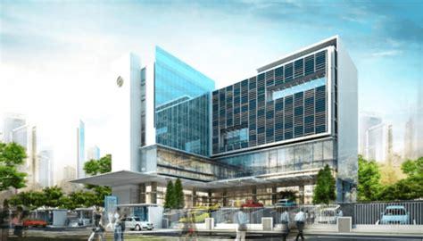 desain gedung kembar indonesia satu project gedung medik rumah sakit pgi cikini desain arsitek