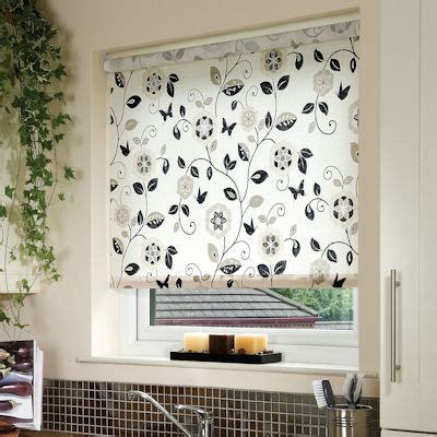 Digital Print Rollers, buy Beatrice Charcoal Roller Blinds