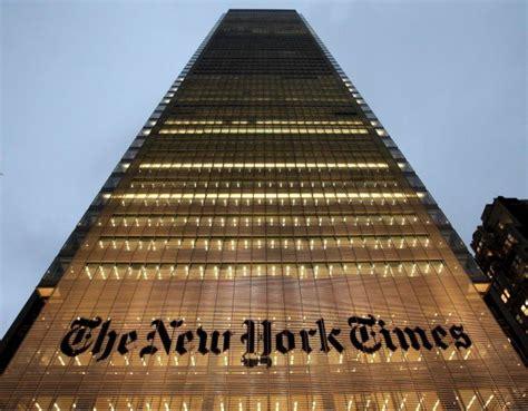 sede new york times crisi usa il nyt ipoteca il suo grattacielo galleria