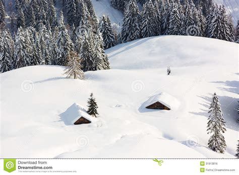 photos of snow deep snow in alps berchtesgaden bavaria germany stock