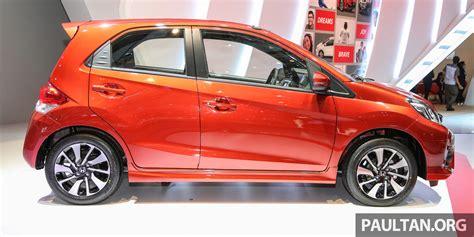 honda brio indonesia honda brio rs side launched in indonesia indian autos blog