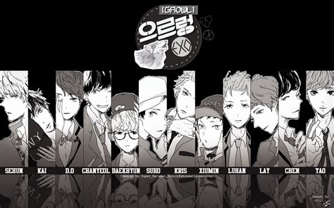 wallpaper exo growl نــــــادي مـعـجـبـيــن 187 exo 171 الإكــســوتـيـك 187 2