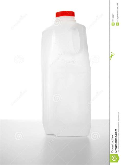 L Gallon by 1 Liter Milk Stock Image Image Of Gallon Four