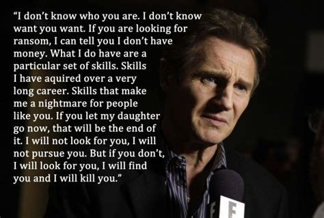 film quotes from taken liam neeson taken quote google search gina s moods