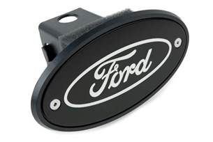 Ford Hitch Cover Ford Hitch Cover Silver