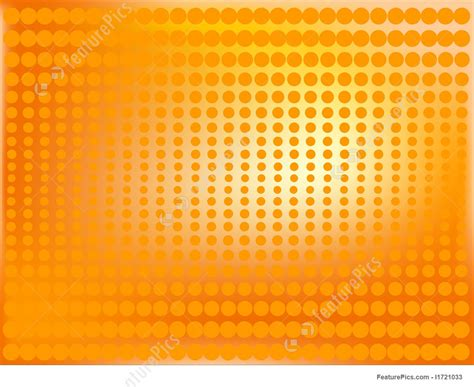 shaded halftone background  orange