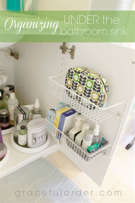 how to organize under the bathroom sink organizing under the bathroom sink graceful order