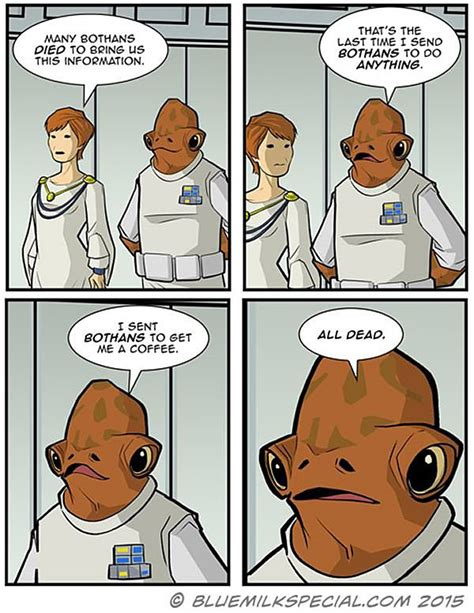 Many Bothans Died Meme - many bothans died comic