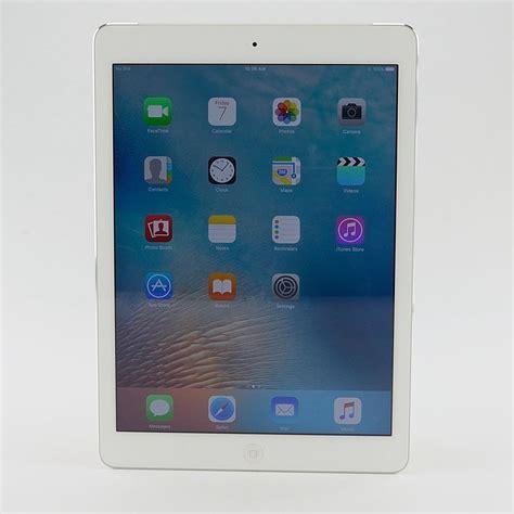 apple air 1st generation 32g a1475 mf529ll a wi fi 4g 9 7 quot white ios retina ebay