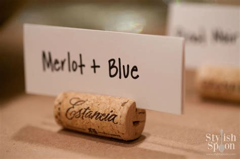 how to make wine cork place card holders diy wine cork place card holders stylish spoon