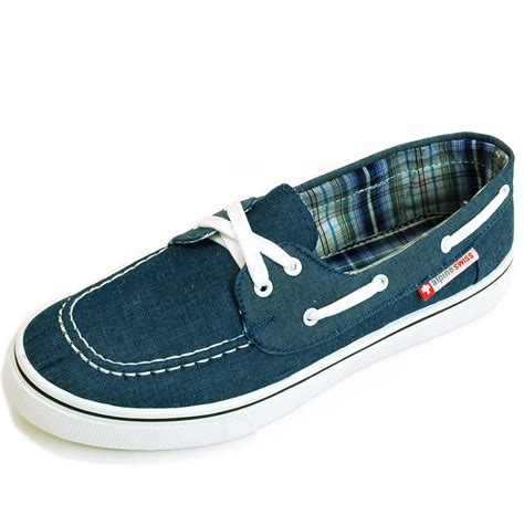 boat loafer shoes alpineswiss antigua mens boat shoes lace up loafer deck